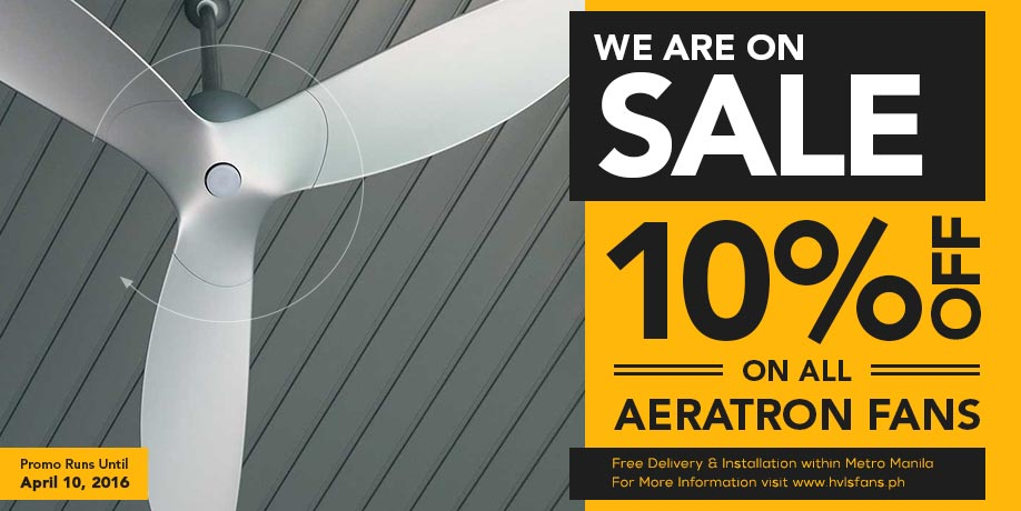 aeratron summer sale